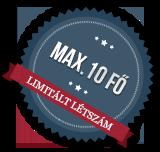 Max 10 fő