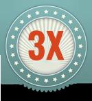 3x több
